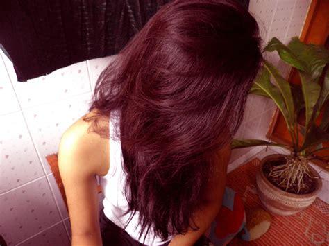 For Dark Hair Red Highlightsdark Burgundy Color Coloring