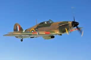 World War 2 Fighter Plane Hurricane