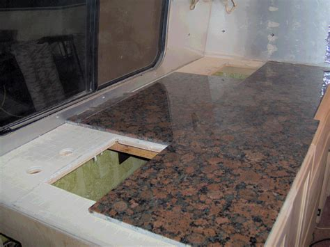 granite tile countertop casual cottage