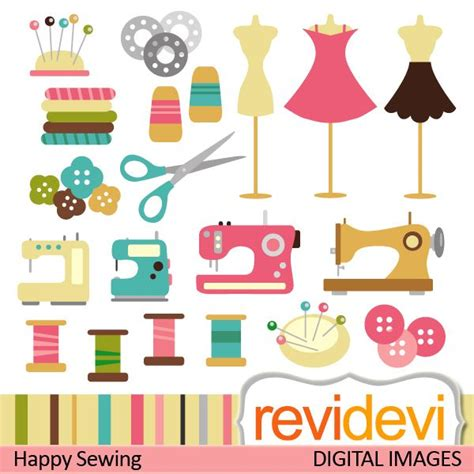Sewing Clip Sewing Cliparts Sewing Machines Thread Mannequin Dress
