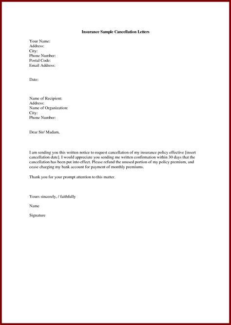 sample request letter  visa cancellation cover