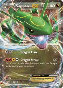 rayquaza ex m rayquaza ex and double dragon energy from