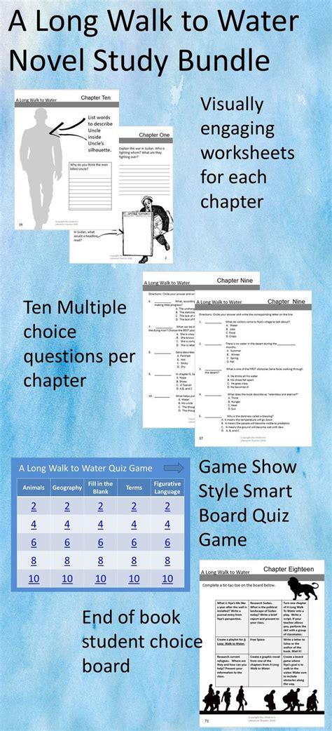 long walk  water  study bundle teacher plan