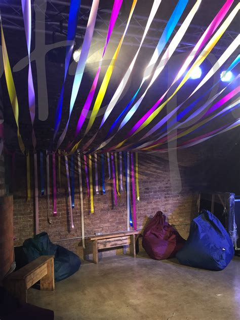 ribbon canopies ceiling decorations  lets party
