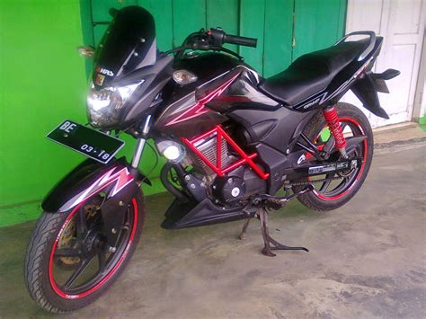Honda Verza 150 Modifikasi by Honda Verza 150 Modifikasi Touring Thecitycyclist