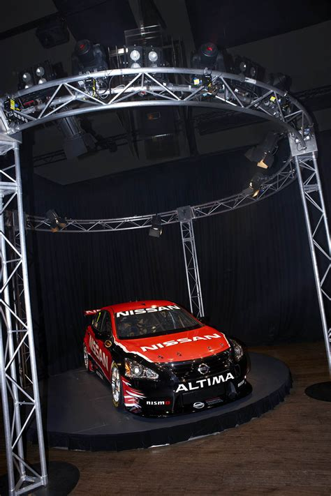 nissan altima v8 supercar launched racecar engineering