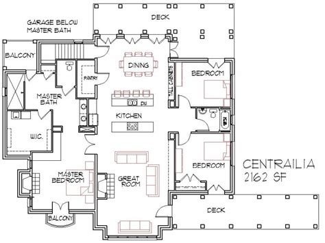 small home open floor house plans small open concept homes
