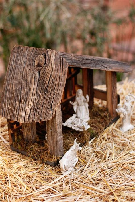 rustic nativity stables   year  reclaimed
