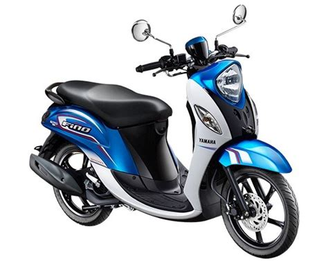 Review Yamaha Fino 125 by Review Of Yamaha Fino 125 Blue Grande 2017
