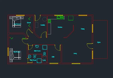 oconnorhomesinc com house plans dwg plan free elegant single story small 04 net
