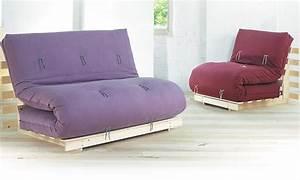 Lit Canapé Ikea : banquette lit avec matelas futon ~ Teatrodelosmanantiales.com Idées de Décoration