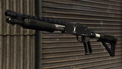 Shotgun Gta Pump Gta5 Sa Theft Grand