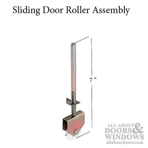 roller assembly bi passing sliding door