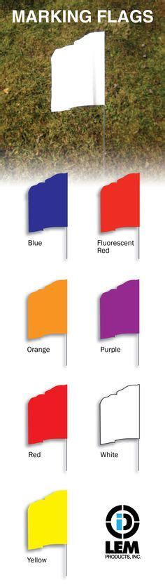 utility flag colors 1000 images about utility identification products on