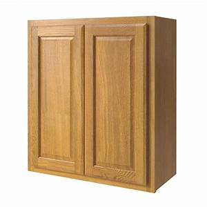 Shop kitchen classics portland 27 in w x 30 in h x 12 in d for Kitchen cabinets lowes with styrofoam wall art