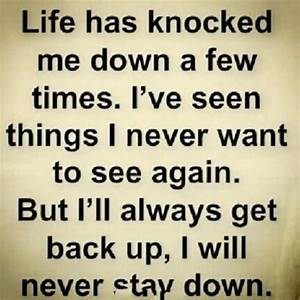 Never Back Down Quotes. QuotesGram