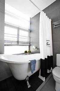 A monochrome HDB flat with a soft touch Home & Decor