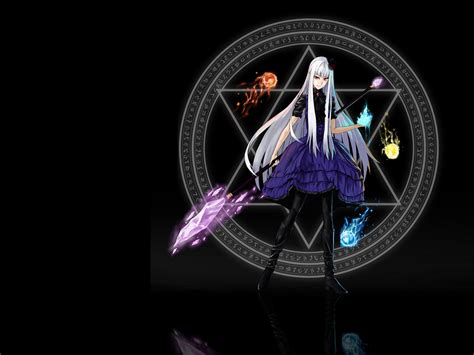 Anime Magic Wallpaper - magic circle wallpaper wallpapersafari