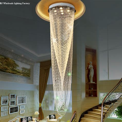 modern chandeliers for high ceilings modern lobby design large chandelier best price luxury