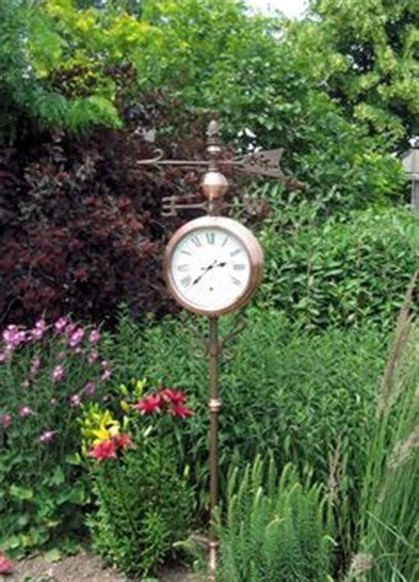 1000 images about outdoor clocks on outdoor