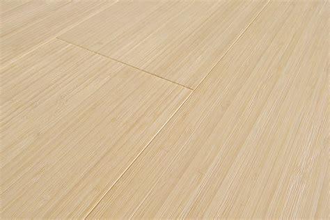 Engineered Bamboo Flooring: vertical bleached wide plank
