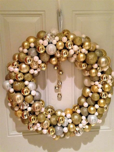 bauble christmas wreath festival collections