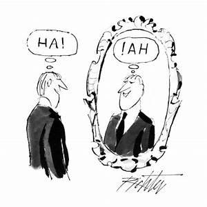Image Gallery self reflection cartoon