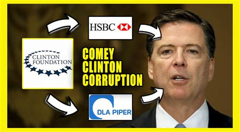 Image result for james comey tied to clinton foundation
