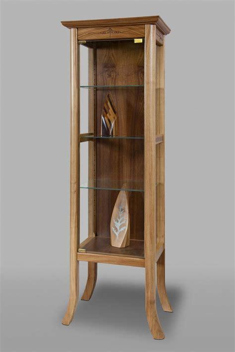 handmade curio cabinet  indigo wood metalworks iwm
