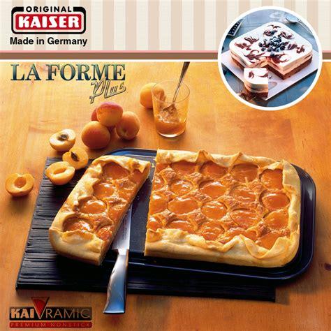 kaiser la forme kaiser la forme plus springform rechteckig 35 x 24 cm cook