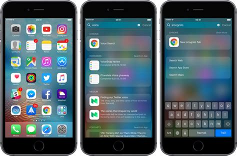 iphone search you can now start chrome in voice search or incognito mode