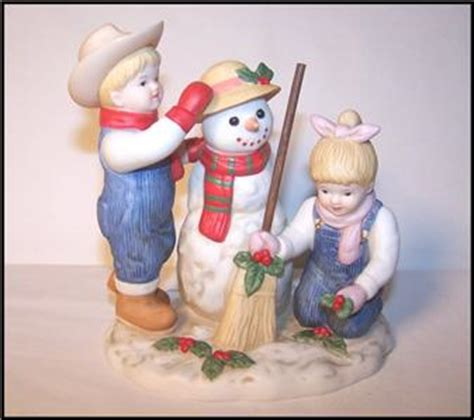 home interior denim days figurines homco home interiors denim days quot snowman