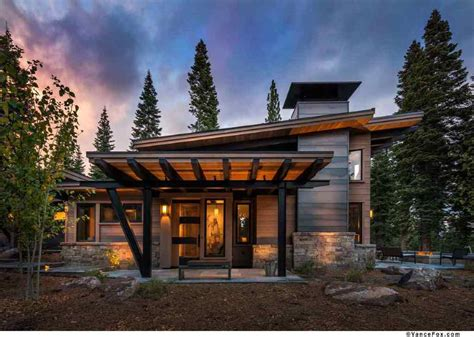 small log homes floor this modern mountain retreat is ideal place to unwind