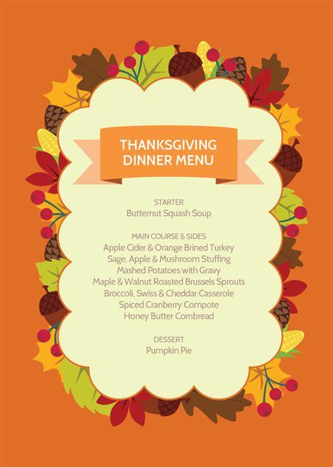 easy  tasty thanksgiving dinner menu recipes