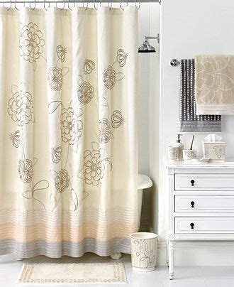 martha stewart shower curtains martha stewart collection bath calendula collection