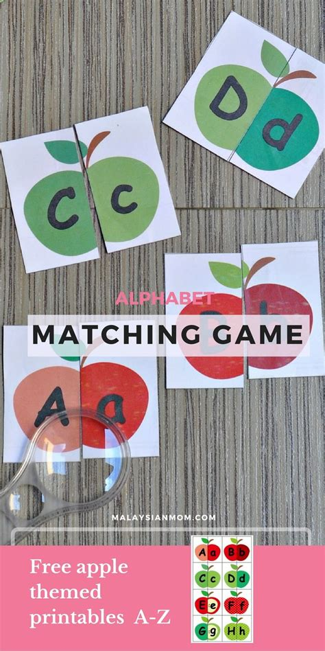 apple alphabet matching homeschool alphabet 782 | 6154cfe6b8d110b934c5e85c2c19a48f