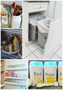 30 Genius Kitchen Storage Hacks Ideas Making Lemonade