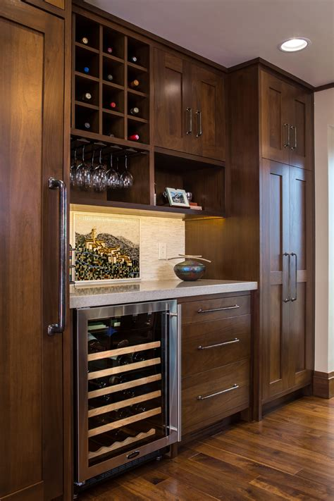 wine cooler kitchen cabinet mullet cabinet countryside transitional kitchen with a 1546