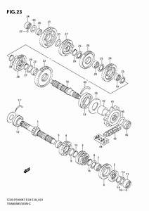 07 Gsxr-1000 Transmission Diagram