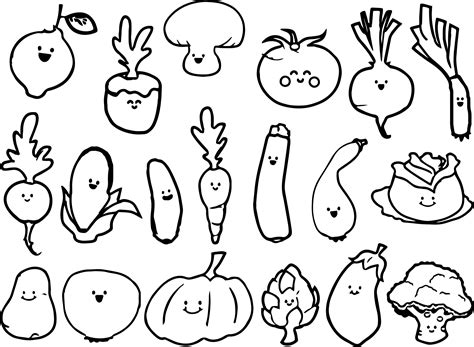Best Coloring Pages For Vegetable Coloring Pages Best Coloring Pages For