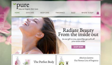 Health & Beauty Website Templates  Online Store Wix