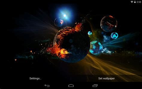 3d Wallpaper Live by Universe Live Wallpaper For Pc Gallery