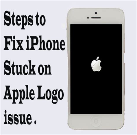 how to fix a iphone steps to fix iphone stuck on apple logo seo maseed