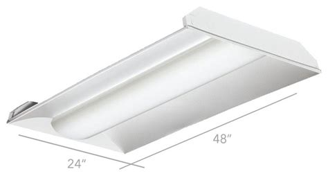 alcon lighting 2x4 center basket 14002 led recessed