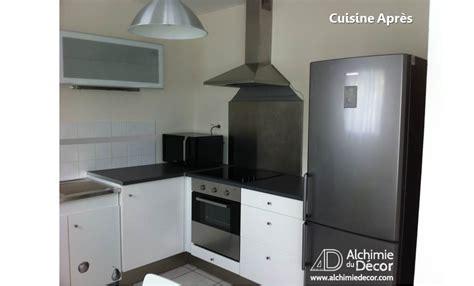 hotte aspirante pour cuisine cuisine moderne fonctionnelle frigo hotte apres alchimie