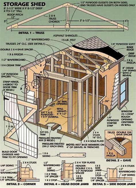 1000 ideas about wood shed plans on pinterest wood shed