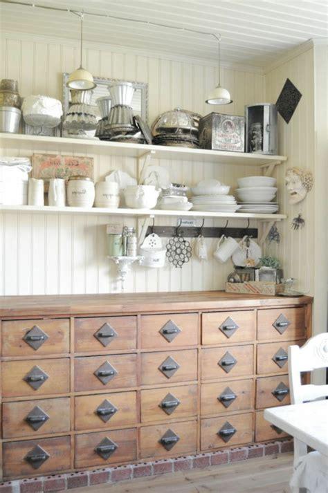 mobilier cuisine vintage le meuble apothicaire crée un style décoratif