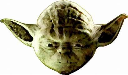 Yoda Wars Star Animated Head Transparent Gifs