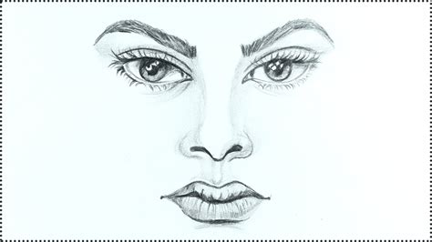 draw  face human face drawing tutorial step