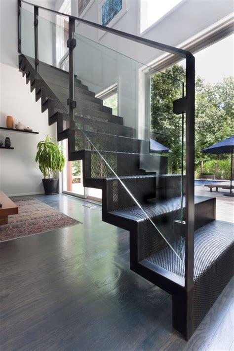 escaleras modernas de interior  imagenes  ideas de diseno
